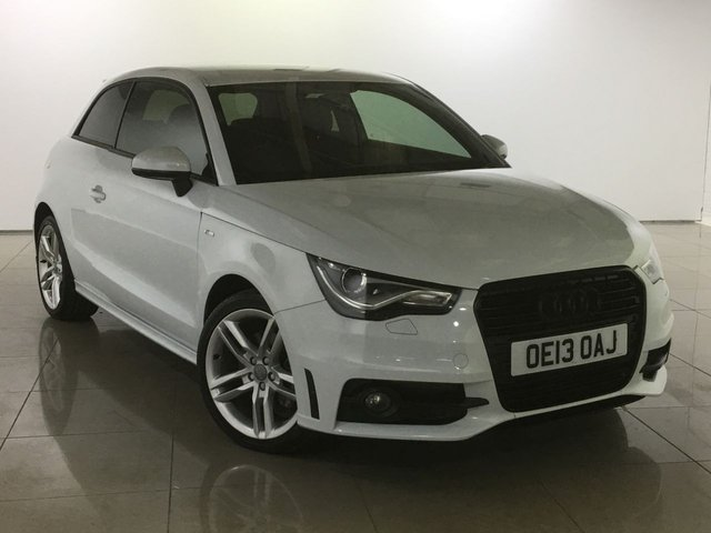 View our 2013 13 AUDI A1 1.6 TDI S LINE 3d 105 BHP