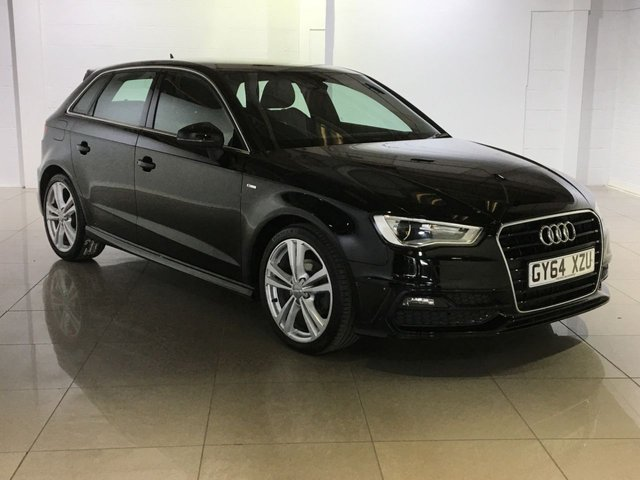 View our 2014 64 AUDI A3 2.0 TDI S LINE 5d 148 BHP
