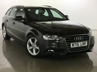 USED 2015 15 AUDI A4 2.0 TDI ULTRA SE TECHNIK 5d 161 BHP One Owner From New/Huge Spec
