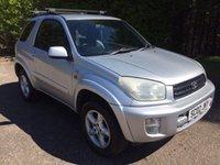 USED 2002 02 TOYOTA RAV4 2.0 NRG VVT-I 3d 146 BHP