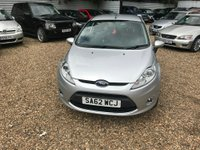 USED 2012 62 FORD FIESTA 1.25 Zetec 3dr ONLY 13000 MILES HPI CLEAR
