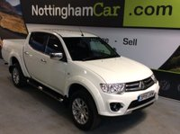 USED 2015 15 MITSUBISHI L200 2.5 DI-D CR Challenger Double Cab Pickup 4WD 4dr *SUPERB EXAMPLE THROUGHOUT*
