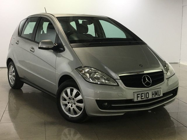 View our 2010 10 MERCEDES-BENZ A CLASS 1.5 A160 BLUEEFFICIENCY CLASSIC SE 5d 95 BHP
