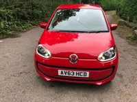2013 VOLKSWAGEN UP 1.0 Move Up Hatchback 3dr £5100.00