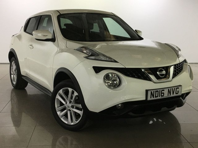 View our 2016 16 NISSAN JUKE 1.6 ACENTA XTRONIC 5d AUTO 117 BHP