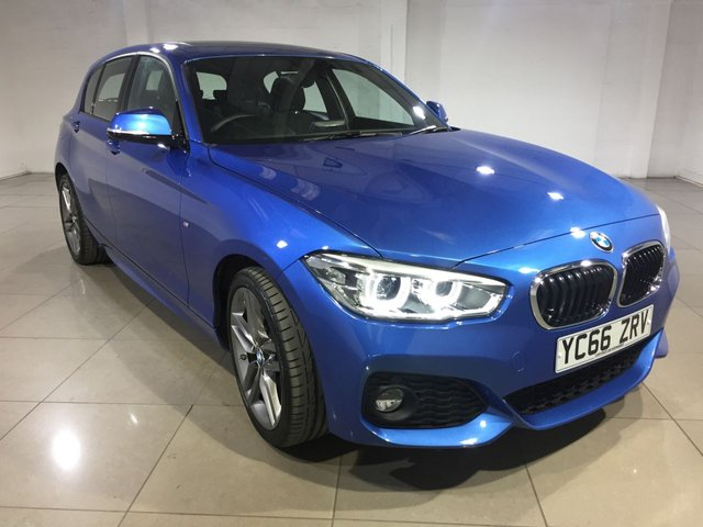 View our 2016 66 BMW 1 SERIES 2.0 120D XDRIVE M SPORT 5d AUTO 188 BHP