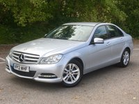 USED 2013 13 MERCEDES-BENZ C CLASS 1.6 C180 BLUEEFFICIENCY EXECUTIVE SE 4d AUTO 154 BHP Full Leather - SAT NAV