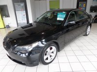 2006 BMW 5 SERIES 2.0 520D SE 4d 161 BHP MANUAL LEATHER SERVICE HISTORY £4495.00