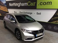 USED 2014 14 HONDA CIVIC 1.6 i DTEC SR Tourer 5dr FINANCE AVAILABLE, DAB, NAV