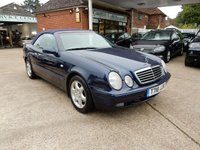 USED 1999 T MERCEDES-BENZ CLK 2.3 CLK230 KOMPRESSOR ELEGANCE 2d AUTO 190 BHP GREAT SERVICE RECORD,LEATHER,PARK AID
