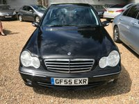 USED 2005 55 MERCEDES-BENZ C CLASS 2.1 C200 CDI Avantgarde SE 4dr HPI CLEAR