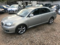 USED 2007 07 TOYOTA AVENSIS 2.2 D-4D T180 5dr FULL SCREEN SAT NAV 2 KEYS