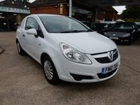 USED 2010 10 VAUXHALL CORSA 1.2 SWB CDTI 1d 73 BHP NO VAT,BARGAIN VAN,NEW TURBO,GREAT HISTORY