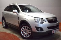USED 2012 VAUXHALL ANTARA 2.2 EXCLUSIV CDTI 5d 161 BHP - Try our secure online Finance Application System