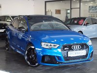 USED 2017 67 AUDI RS3  RS3 2.5 TFSi Sportback S Tronic Quattro 5 dr PAN ROOF+S-EXHAUST+BIG SEPC