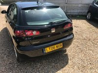 USED 2006 06 SEAT IBIZA 1.4 16v Sport 3dr 1 LADY OWNER FROM NEW