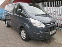 2014 FORD TRANSIT CUSTOM 270 LIMITED SWB L1 125 PS *CRUISE+AIR CON* £12995.00