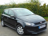 USED 2010 60 VOLKSWAGEN POLO 1.2 S 5d * FULL SERVICE HISTORY * ONE OWNER FROM NEW *