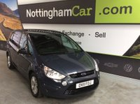 USED 2011 11 FORD S-MAX 2.0 TDCi Zetec Powershift 5dr *SUPERB EXAMPLE THROUGHOUT*
