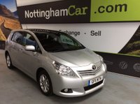 USED 2011 11 TOYOTA VERSO 2.0 D-4D TR 5dr (7 Seat) FSH - FINANCE AVAILABLE
