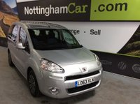USED 2013 63 PEUGEOT PARTNER 1.6 HDi Tepee S MPV 5dr *SUPERB EXAMPLE THROUGHOUT*