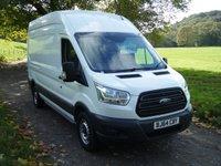 2014 FORD TRANSIT 2.2 350 H/R P/V 1d 124 BHP £9999.00