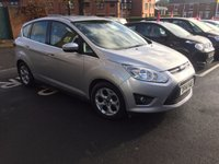 USED 2014 14 FORD C-MAX 1.6 ZETEC TDCI 5d 114 BHP WITH FRONT HEATED SCREEN , ALLOYS AND AUX/USB INPUT!!..EXCELLENT FUEL ECONOMY!..LOW CO2 EMISSIONS(117G/KM)..£30 ROAD TAX..FULL FORD HISTORY..ONLY 8330 MILES FROM NEW!!