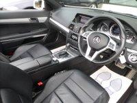 USED 2013 13 MERCEDES-BENZ E CLASS 2.1 E250 CDI BLUEEFFICIENCY SPORT 2d CONVERTIBLE AUTO **SAT NAV**