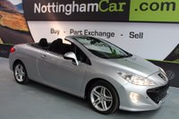 USED 2010 10 PEUGEOT 308 2.0 HDi FAP SE 2dr ELECTRIC HARDTOP FOLDING ROOF