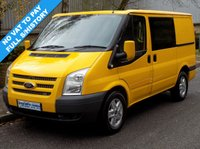 2011 FORD TRANSIT 2.2 FWD 300 SWB LOW ROOF 125BHP 6 SPEED £6995.00