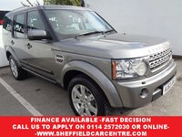 2010 LAND ROVER DISCOVERY 3.0 4 TDV6 XS 5d AUTO 245 BHP £15475.00