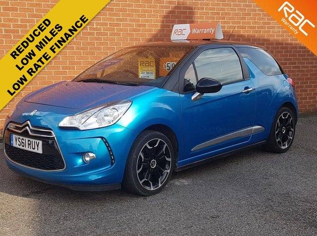2012 61 CITROEN DS3 1.6 DSTYLE PLUS 3d 120 BHP