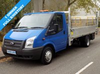 USED 2012 12 FORD TRANSIT 2.2 RWD 350 LWB E/F DRW FLATBED 125BHP 6 SPEED 1 Owner, Full Service History