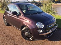 USED 2013 13 FIAT 500 1.2 LOUNGE 3d 69 BHP **ALLOYS**