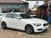 USED 2014 14 BMW 1 SERIES Sport Hatch 116D SPORT 5d 114 BHP Free MOT for Life