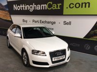 USED 2009 58 AUDI A3 2.0 TDI Sportback 5dr FINANCE AVAILABLE LONG MOT