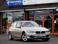 USED 2013 63 BMW 3 SERIES 320D XDRIVE SE TOURING 5dr AUTO * Sat Nav & Leather *