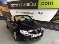 USED 2010 59 VOLKSWAGEN EOS 2.0 TDI Cabriolet 2dr **VW HISTORY & LEATHER**