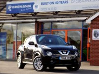 USED 2014 64 NISSAN JUKE 1.2 DIG-T ACENTA PREMIUM 5dr * Sat Nav & Rear Camera * *ONLY 9.9% APR with FREE Servicing*