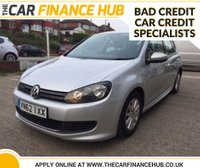 USED 2012 62 VOLKSWAGEN GOLF 1.6 S TDI BLUEMOTION 5d 103 BHP