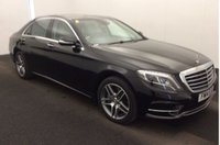 2014 MERCEDES-BENZ S CLASS 3.0 S350 BLUETEC L AMG LINE EXECUTIVE 4d AUTO 258 BHP £35950.00