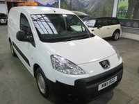 USED 2011 11 PEUGEOT PARTNER 1.6 HDi S L1 850 4dr ***PRACTICAL WORKHORSE***