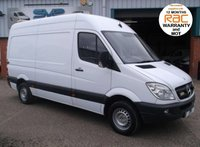 USED 2010 10 MERCEDES-BENZ SPRINTER MWB 313CDI WORKSHOP VAN WITH PTO AND AIR COMPRESSOR
