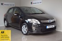 2011 TOYOTA AURIS 1.8 T4 5d AUTO 99 BHP £6249.00
