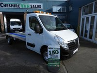2012 VAUXHALL MOVANO 2.3 RECOVERY TRUCK  125 BHP LOW MILES FSH CAR TRANSPORTER  £9995.00