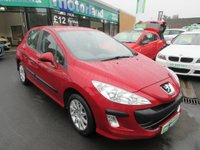 USED 2009 59 PEUGEOT 308 1.6 VERVE 5d 120 BHP 1 OWNER ..FULL SERVICE HISTORY