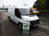 2012 FORD TRANSIT 2.2 280 SWB MED ROOF AIR CON FSH FROM NEW  £6995.00