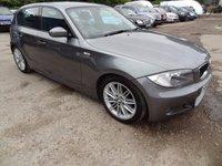 2009 BMW 1 SERIES 2.0 118D M SPORT 5d 141 BHP £4450.00