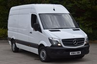 USED 2014 14 MERCEDES-BENZ SPRINTER 2.1 313 CDI MWB 5d 129 BHP EURO 5 H/ROOF RWD DIESEL MANUAL VAN ONE OWNER LOVELY DRIVE EUOR 5