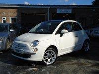 2009 FIAT 500 1.2 LOUNGE 3d 69 BHP £4250.00